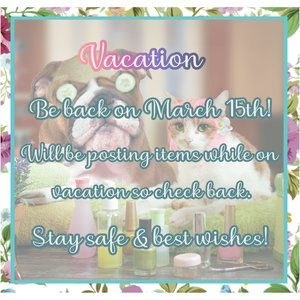 Vacation until March 15th
